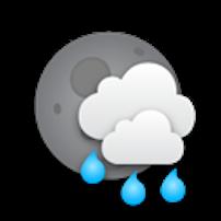 mưa rải rác