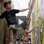 Nghệ thuật Graffiti trên bức tường cổ Hà Nội