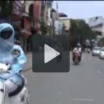 Các cách chống nắng nóng của người Hà Nội