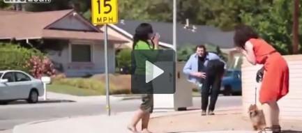 Clip: Trò ảo thuật cắt đôi người trên đường phố