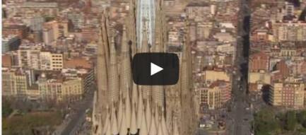 Nhà thờ nổi tiếng Sagrada Familia được hoàn thành trên... mô hình ảo