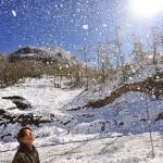 Có thể có thêm 1 -2 đợt tuyết rơi ở các vùng núi phía Bắc
