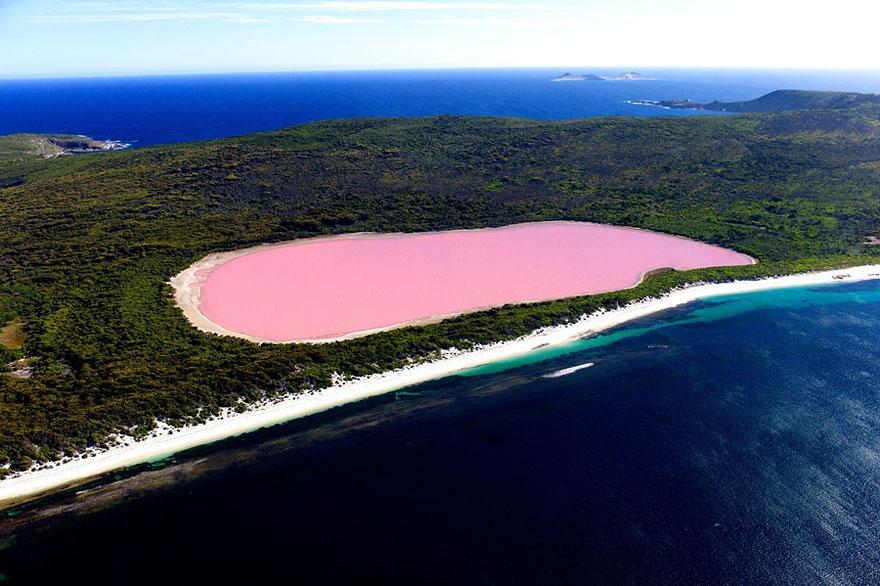 Hồ Hillier, Úc