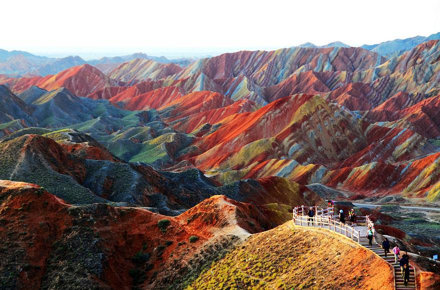 Zhangye Danxia Landform, Trung Quốc