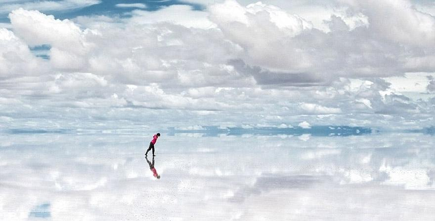 Salar de Uyuni: cái gương lớn nhất thế giới, Bolivia
