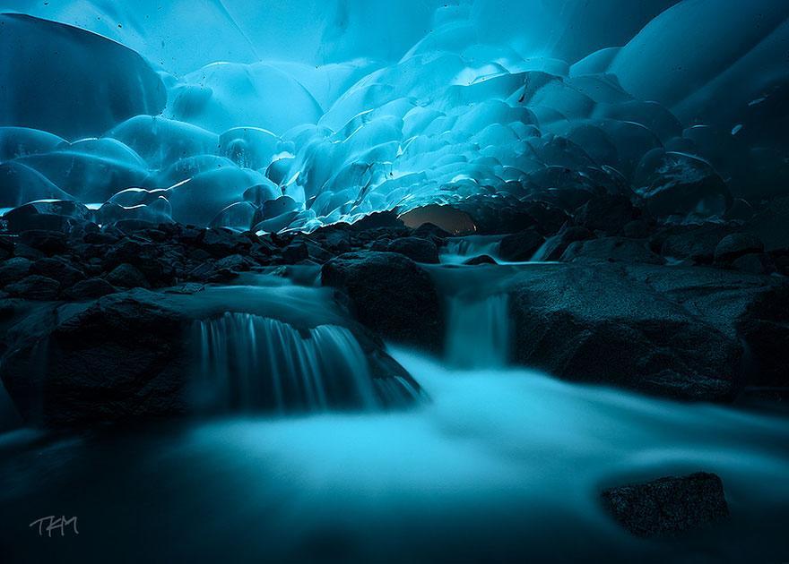 Hang động băng Mendenhall, Juneau, Alaska
