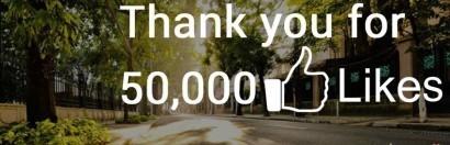 Facebook Dự báo thời tiết Hà Nội chạm mốc 50.000 like