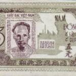Sự biến đổi theo thời gian của tiền giấy Việt Nam