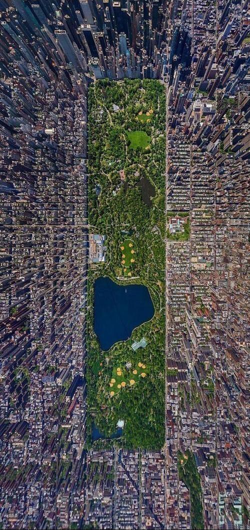 Toàn cảnh thế giới nhìn từ trên cao