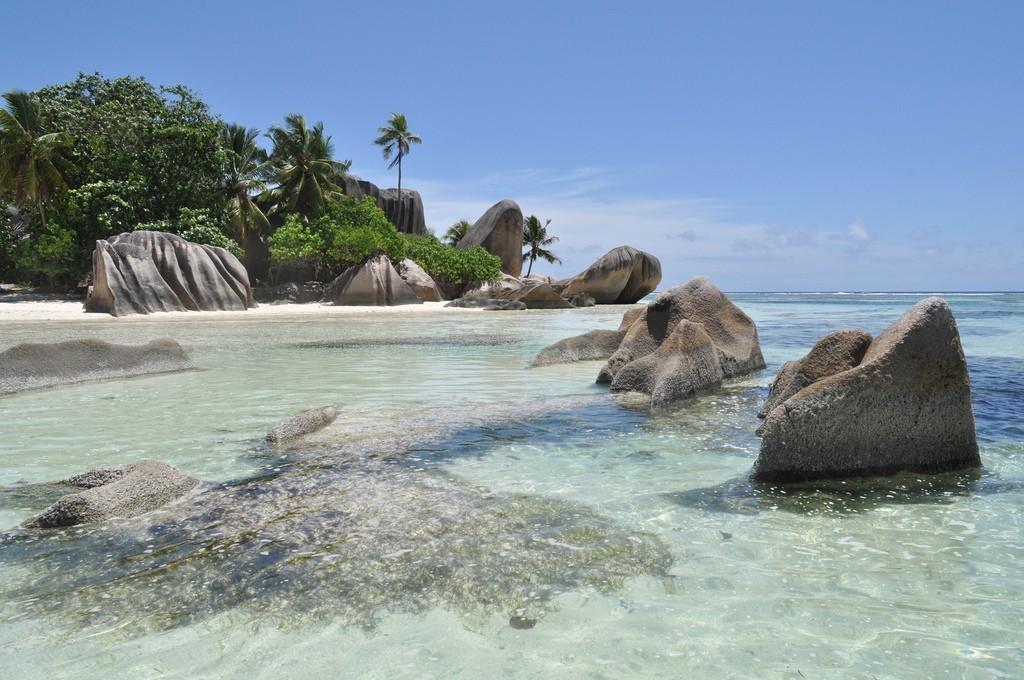 Bãi biển Anse Source d'Argent, Đảo La Digue, Seychelles