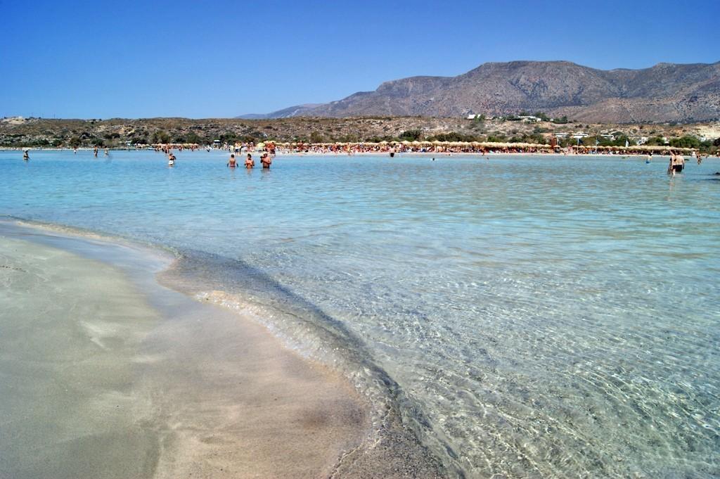 Bãi biển Elafonissi, Hy Lạp