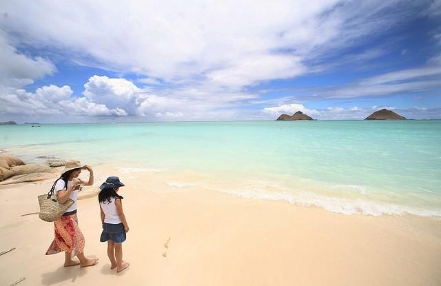Lanikai Beach, Kailua, Hawaii