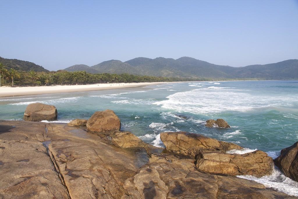 Bãi biển Lopes Mendes, Ilha Grande, Brazil