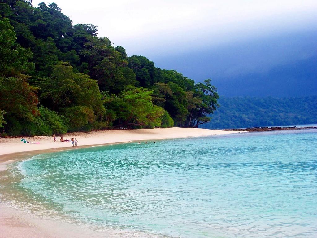 Bãi biển Radhanagar, đảo Havelock, Ấn Độ