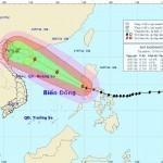 Bão Rammasun tiến vào Biển Đông, trở thành bão số 2 trên Biển Đông