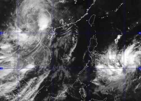 Bão số 3 suy yếu thành áp thấp nhiệt đới trong hôm nay