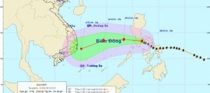 Bão Hagupit đổ bộ Biển Đông