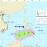 Tin bão gần biển Đông – Bão Jangmi
