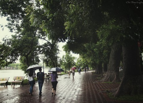 Cập nhật tin bão số 1 - Hà Nội sẽ có mưa to và rất to từ tối nay tới hết đêm 28/7