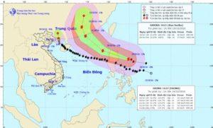 Bão số 7 suy yếu thành áp thấp nhiệt đới và tin về siêu bão Haima